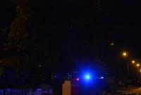 Pożar samochodu przy ul. Św. Wawrzyńca w Gnieźnie