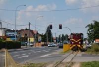 Audi wjechało pod pociąg kolei wąskotorowej!