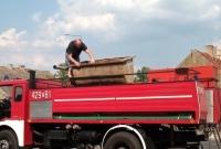Awaria 30-letniego samochodu OSP w Witkowie! Strażacy szybo zadziałali!
