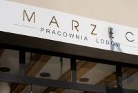 Pracownia lodów MARZEC - nowo otwarta lodziarnia z pysznymi lodami własnej produkcji