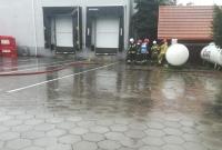 Wyciek gazu na terenie ubojni! Na miejscu 9 zastępów Straży Pożarnej!
