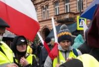 Rolnicy z powiatu gnieźnieńskiego protestowali w Warszawie