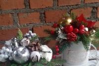 Samotny Mikołajkowy FlowerBox