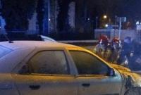 Pożar samochodu na ul. Roosevelta w Gnieźnie