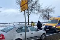 Zderzenie czterech samochodów w Wymysłowie