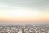 Niedzielny zachód Słońca nad Gnieznem
