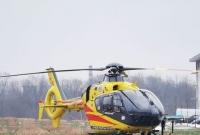 Śmigłowiec LPR zabrał chore dziecko do poznańskiego szpitala