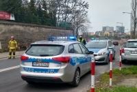 Wypadek na ul. Żwirki i Wigury w Gnieźnie! Dwie osoby w szpitalu