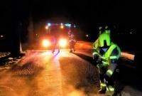Wypadek motocyklowy w Witkowie! Jedna osoba w szpitalu