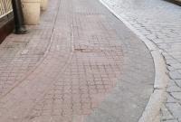 Zaniżenie nawierzchni przy ul. Chrobrego bez kwalifikacji do naprawy
