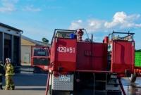 Pożar hali w Łopiennie! W akcji strażacy z dwóch powiatów!