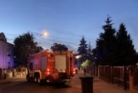 Pożar przy ul. Słowackiego w Gnieźnie! Spłonął pustostan