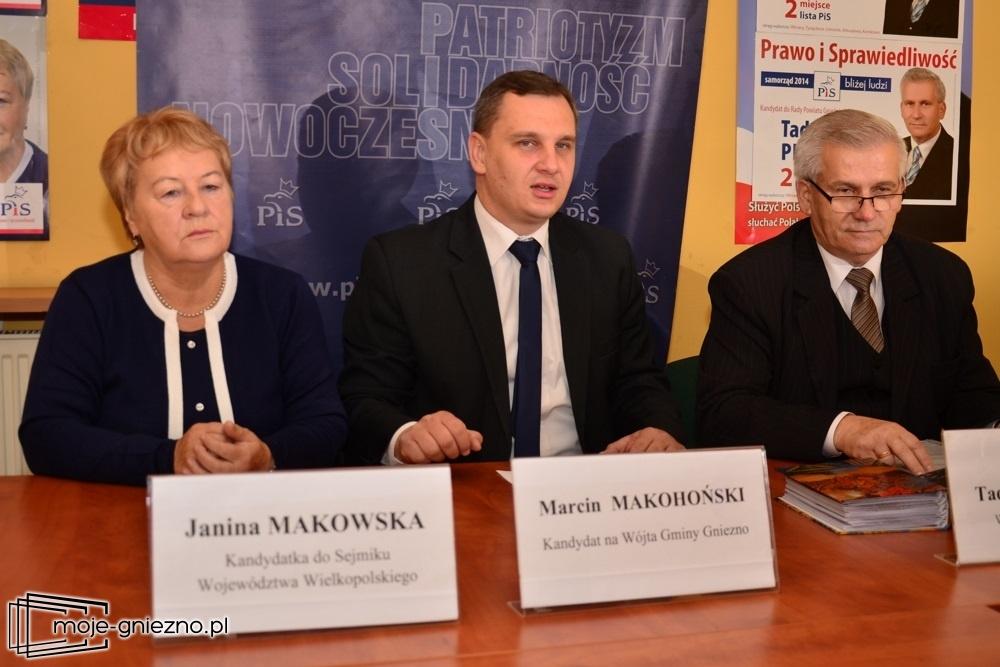 Marcin Makohoński zaprezentował swój program wyborczy