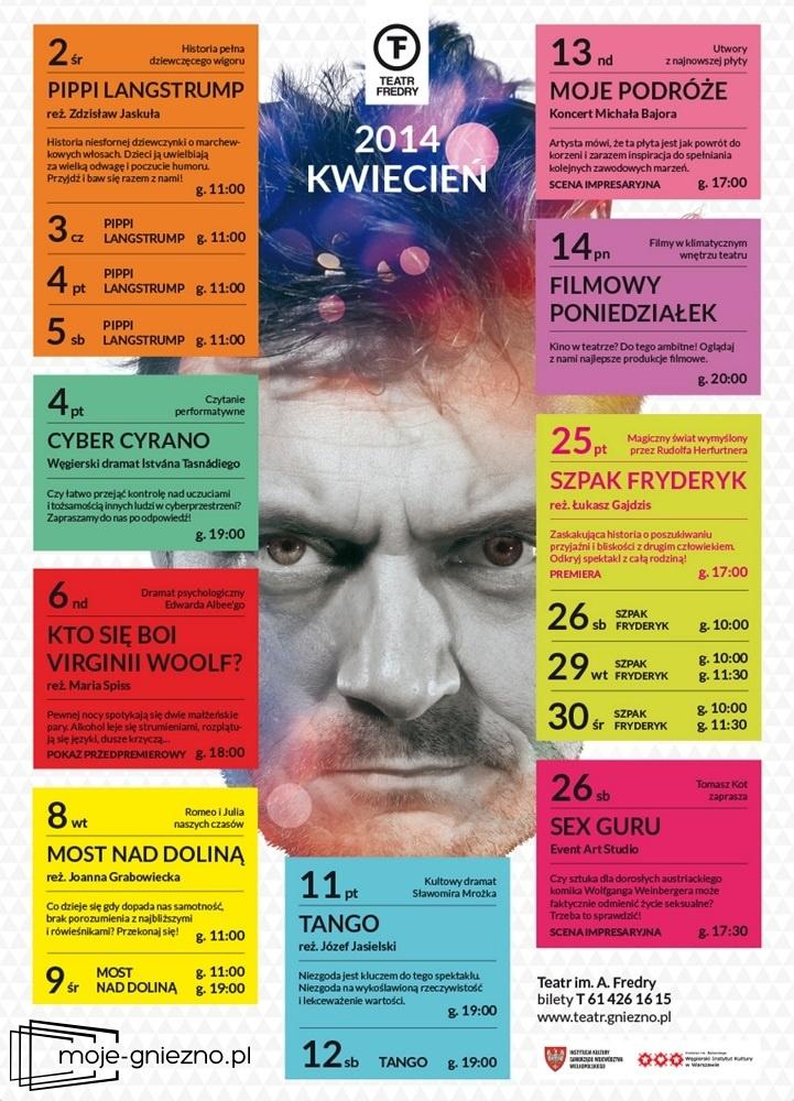 Repertuar Teatru im. A. Fredry w Gnieźnie