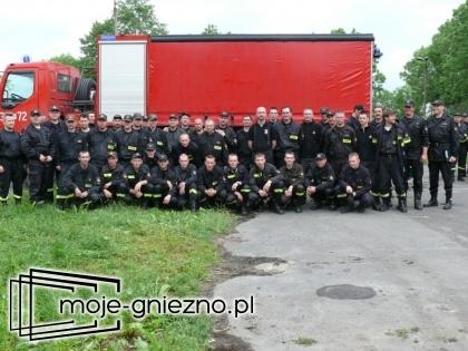 Jak strażacy z Gniezna uratowali Sandomierz...
