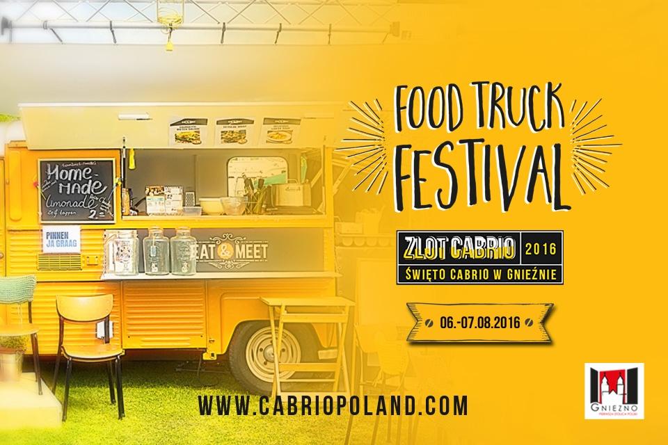 Food Trucki przyjadą na zlot Cabrio Poland do Gniezna