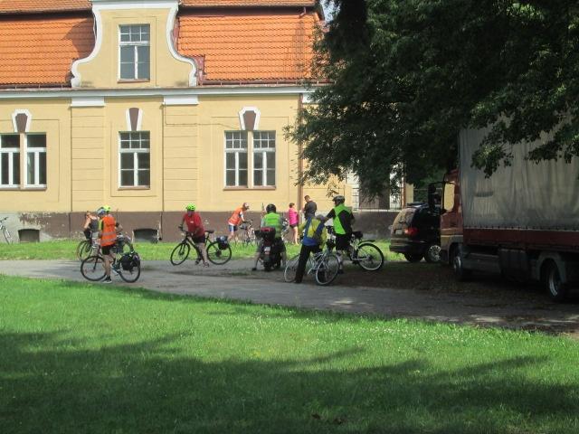 XXVII Pielgrzymka Rowerowa na Jasną Górę odwiedziła Niechanowo
