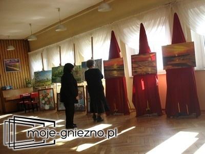 Wystawa malarska w GOK-u w Niechanowie