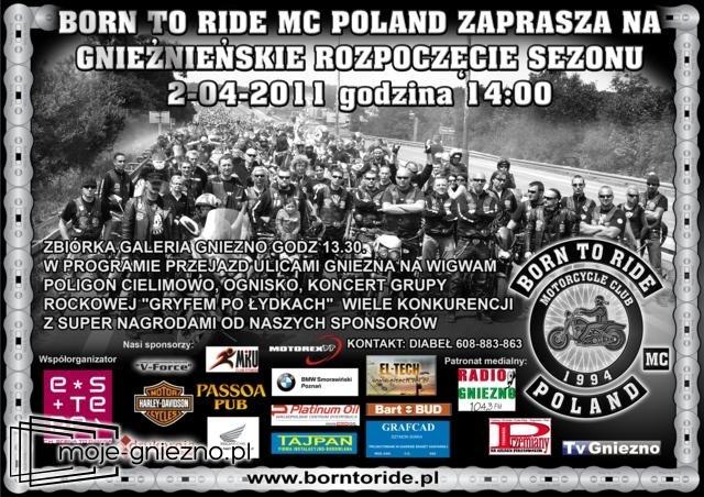 Motocykliści opanują miasto