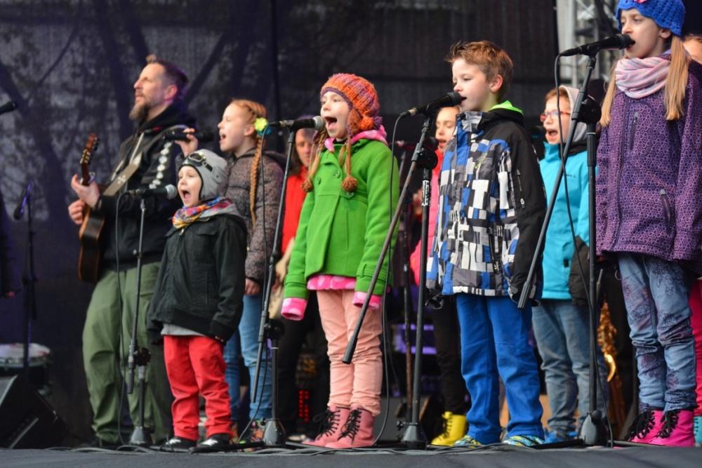 Arka Noego w deszczową sobotę zaśpiewała dla Gniezna - fotorelacja