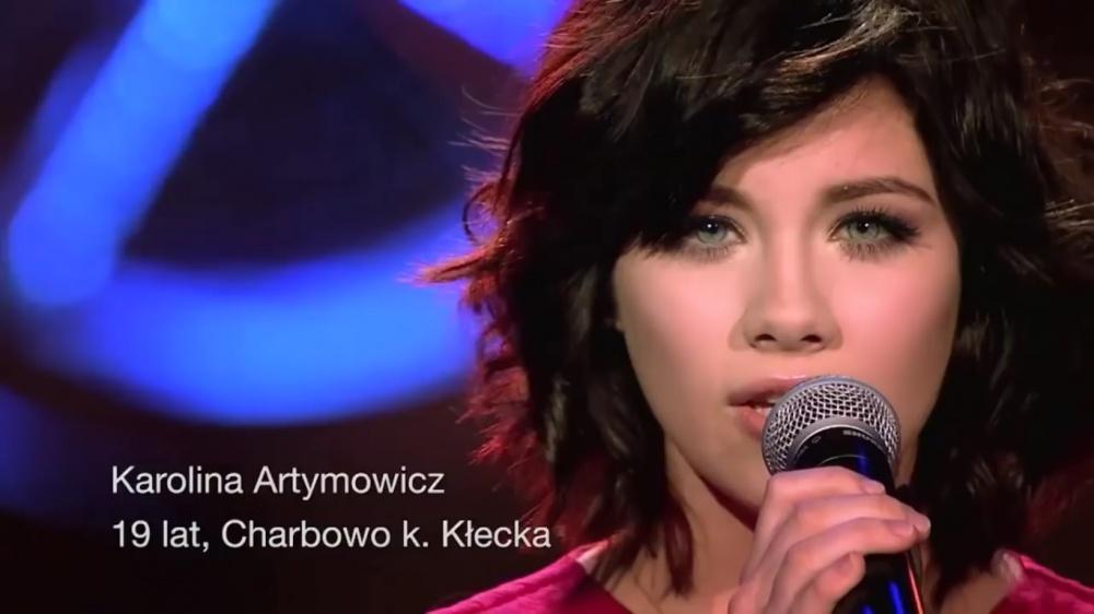 Świetny występ Karoliny Artymowicz! Wokalistka przechodzi do kolejnego etapu