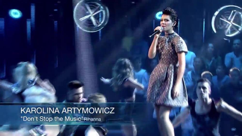 Zobaczcie występ Karoliny Artymowicz w ostatnim
