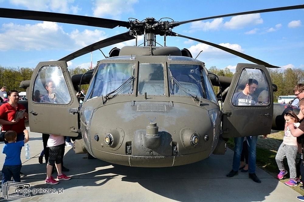 Black Hawki w Powidzu! Amerykanie demonstrują swoją siłę
