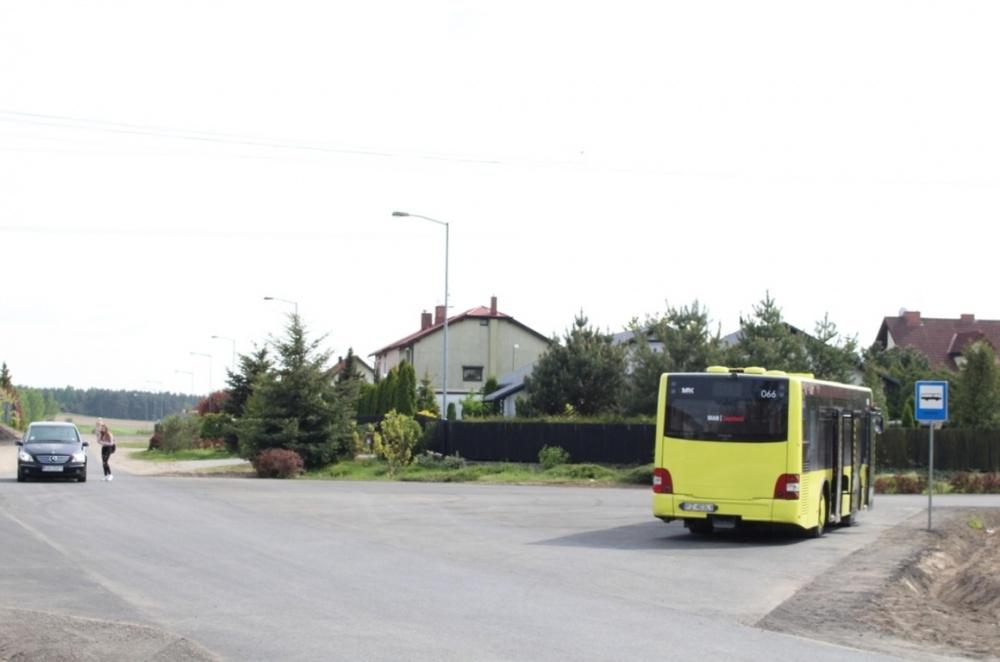 Pętla autobusowa przy ul. Jabłoniowej już gotowa
