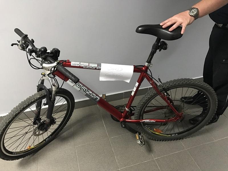 Ukradł rower, a potem sam zgłosił się na Policję