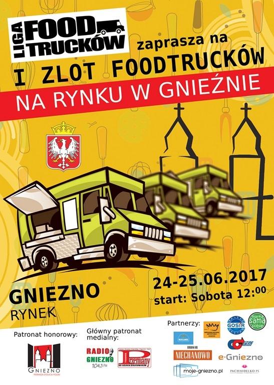 I Zlot FoodTrucków w Gnieźnie