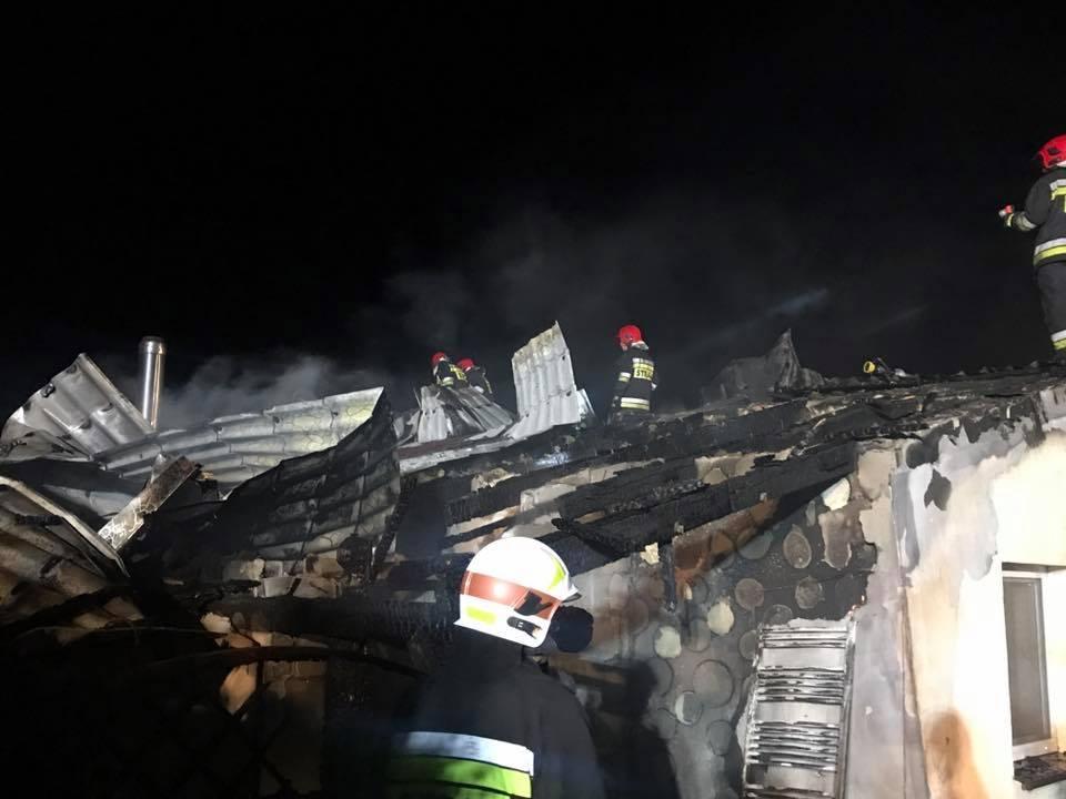 Wybuch bojlera elektrycznego powodem pożaru w Kalinie