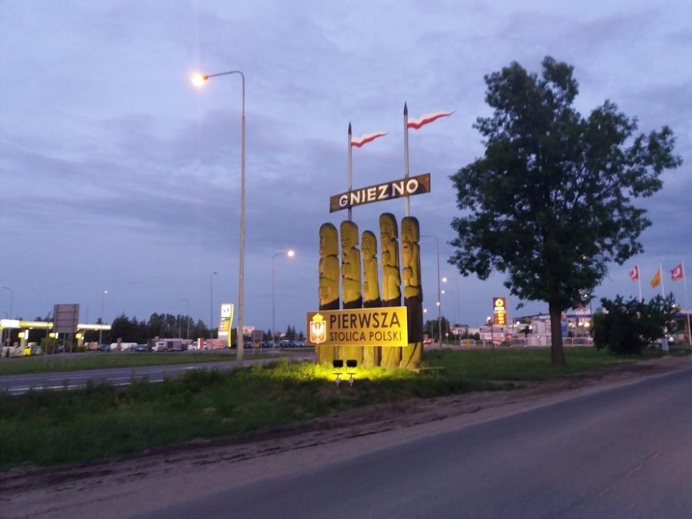 Witacz na Gdańskiej lepiej widoczny