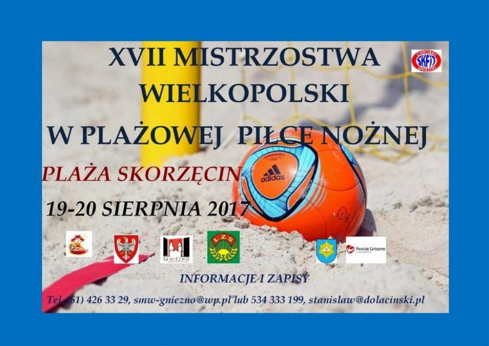 Piłkarska Plażówka Skorzęcin 2017