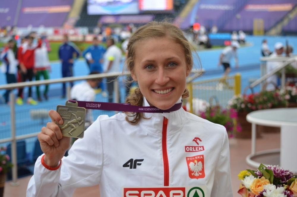 Martyna Galant z brązowym medalem Mistrzostw Europy
