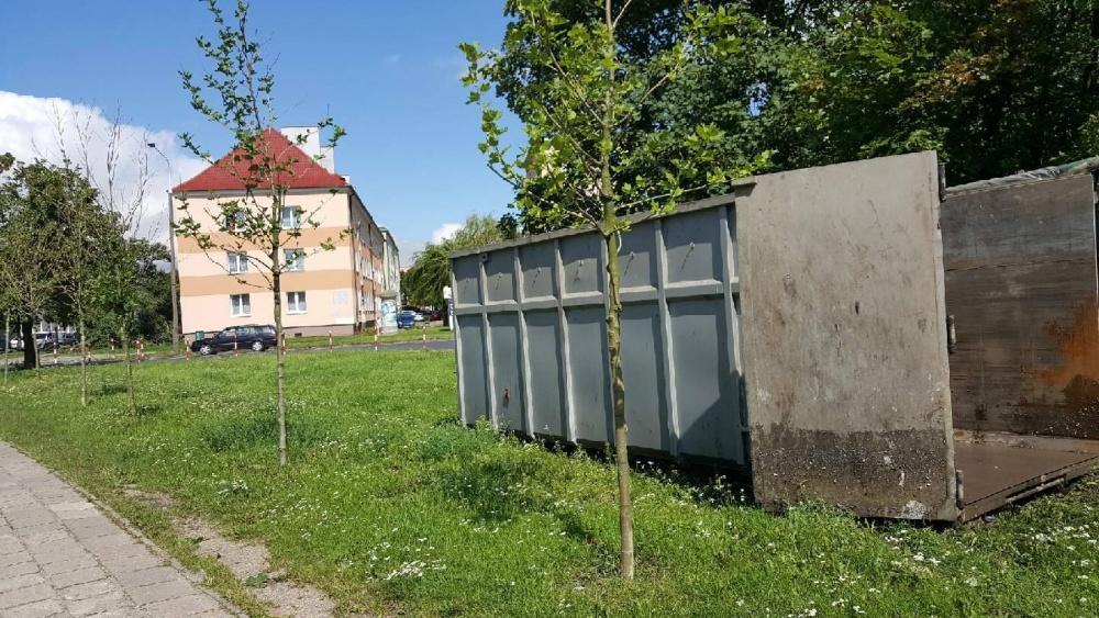 Kontenery na odpady zielone