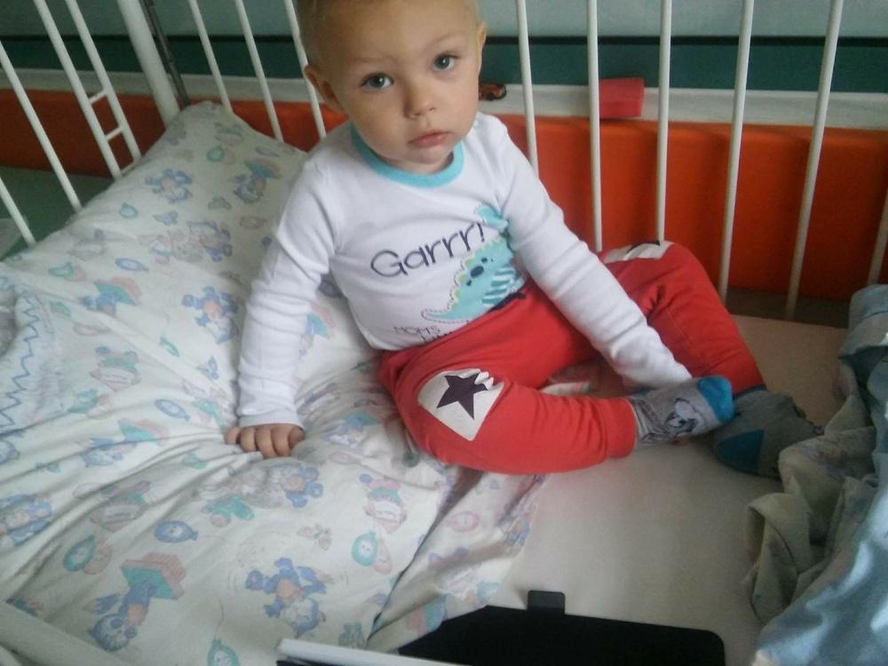 Potrzebna pomoc dla Olusia! 2-latek ma złośliwy nowotwór