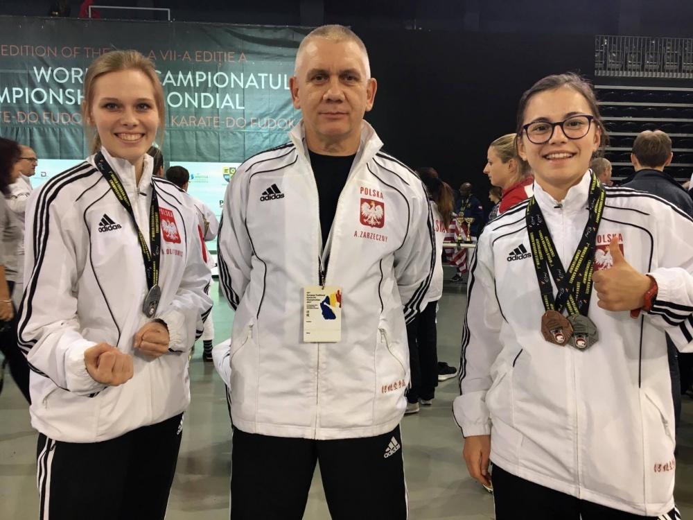 Klaudia Piórek i Ola Politowicz z medalami Mistrzostw Europy i Świata w Karate