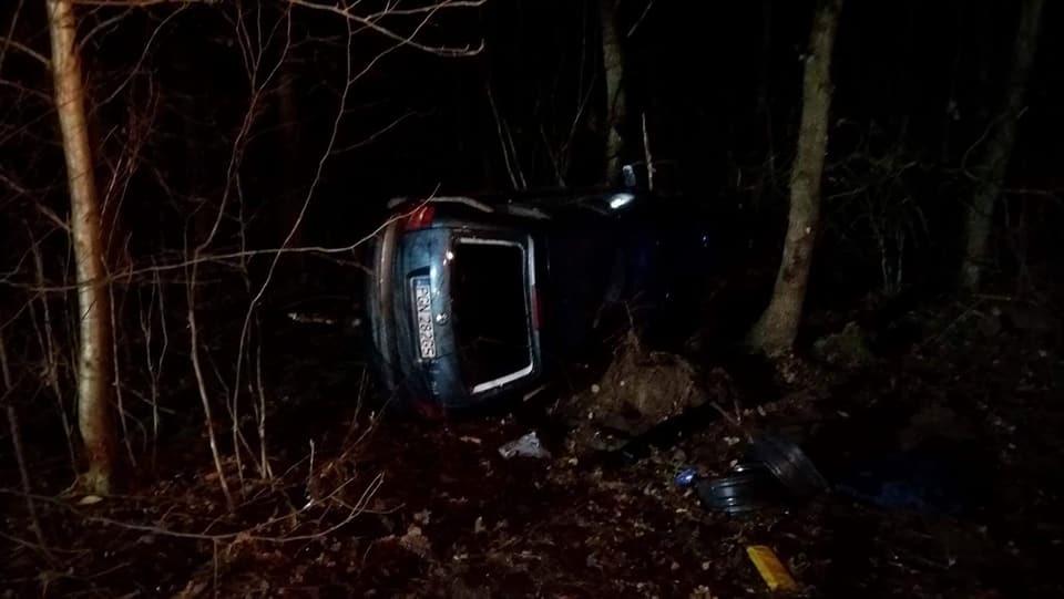 Pijany kierowca zakończył jazdę