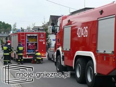 Wybuch gazu w domu przy ul. Listopadowej