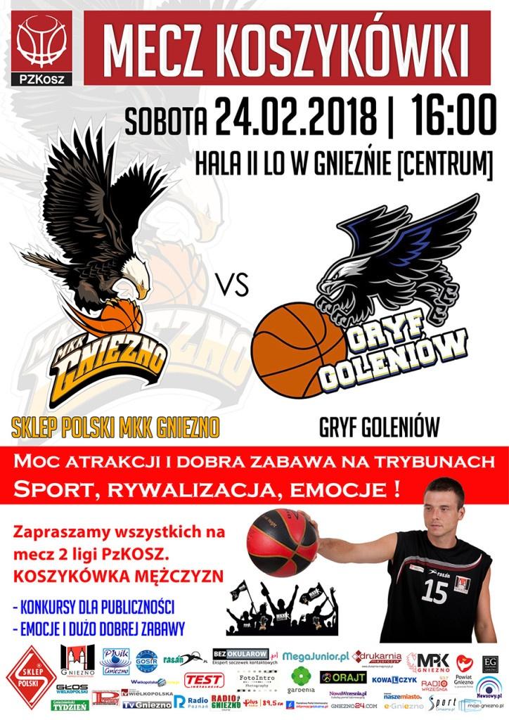 Po wygranej w Poznaniu wracamy na dwa mecze do Gniezna!