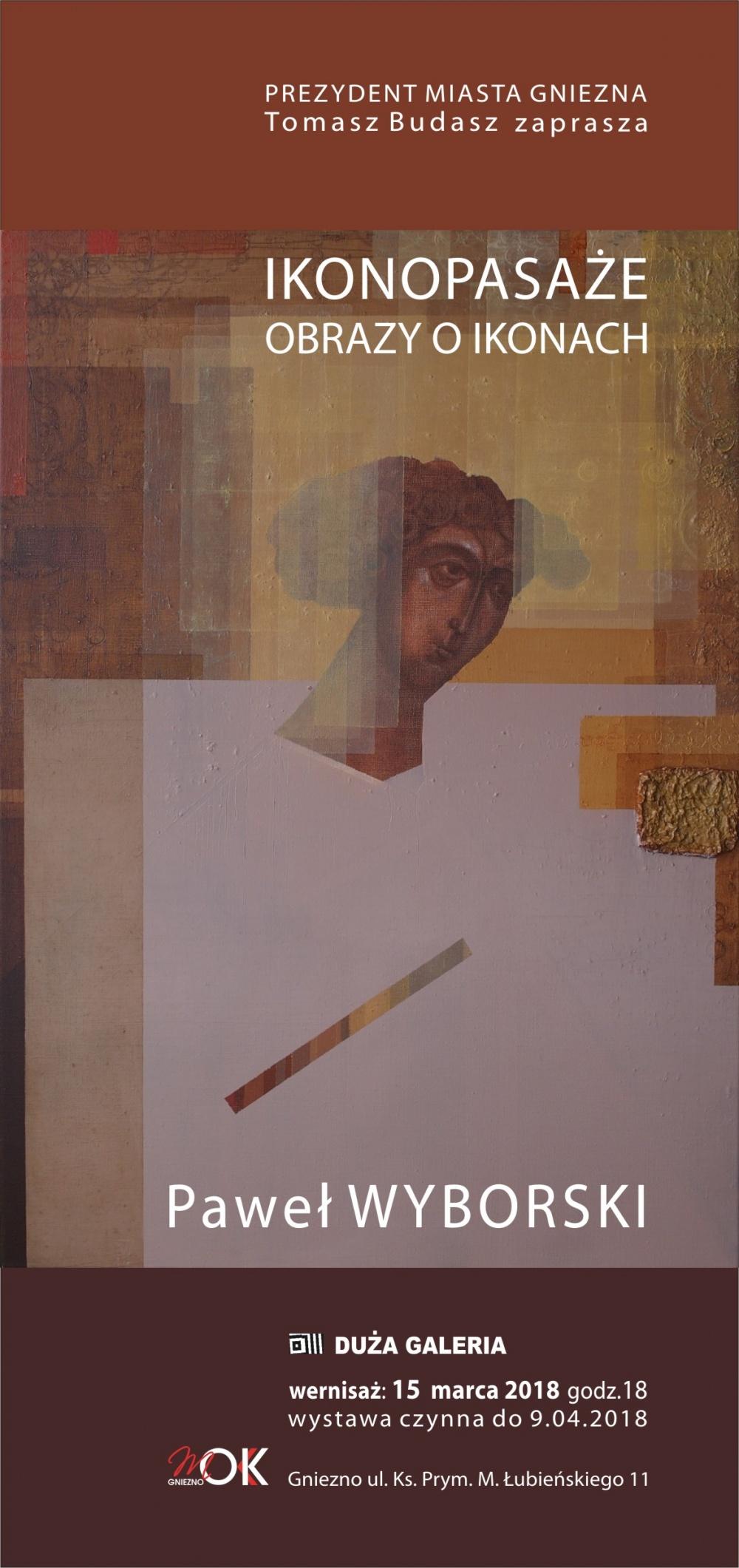 Wystawa malarstwa Pawła Wyborskiego w MOK-u