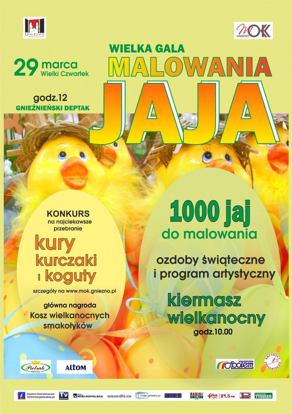 Wielka Gala Malowania jaja już 29 marca