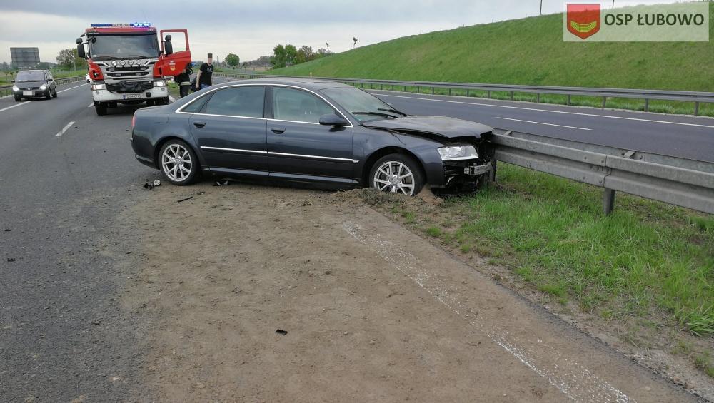 Wypadek na trasie S5! Audi