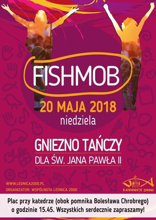Fishmob w Gnieźnie