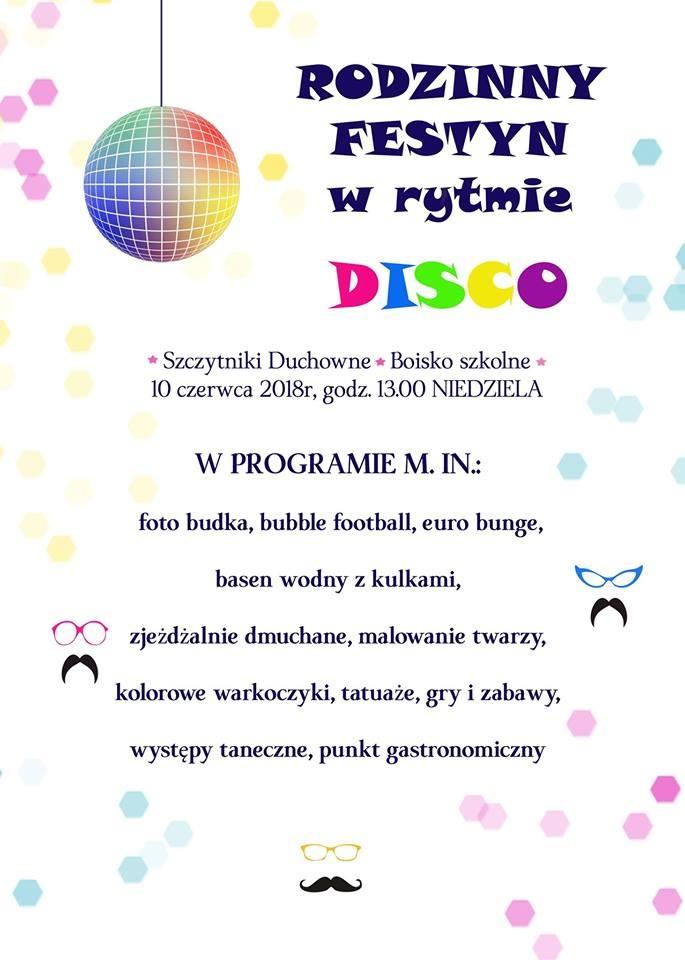 Rodzinny festyn w rytmie disco!