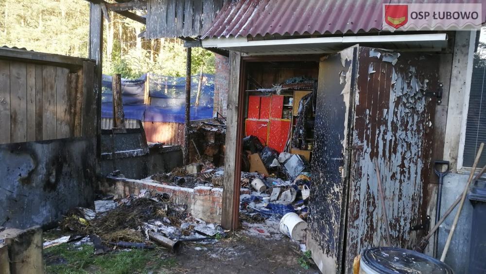 Pożar w Przyborowie