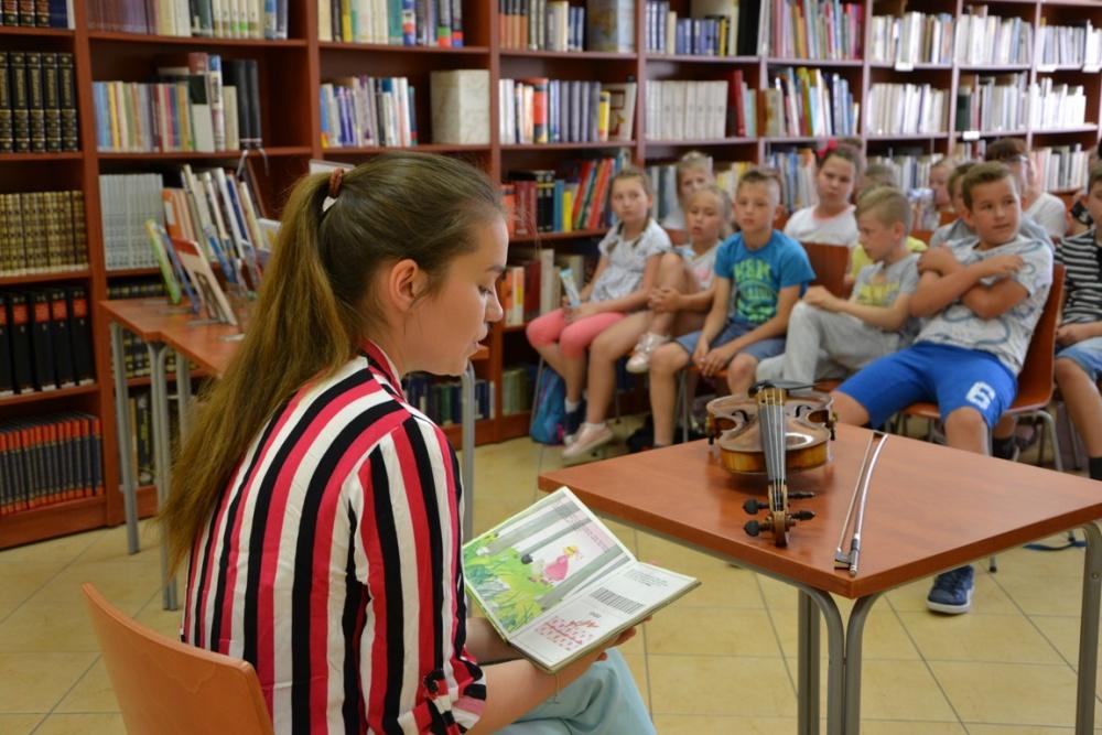 Sara Powaga spotkała się z dziećmi