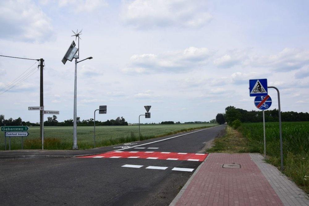 Gmina Czerniejewo zakończyła budowę ścieżek rowerowych