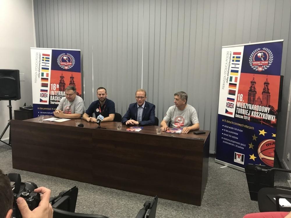 Międzynarodowy Turniej Koszykówki po raz szesnasty