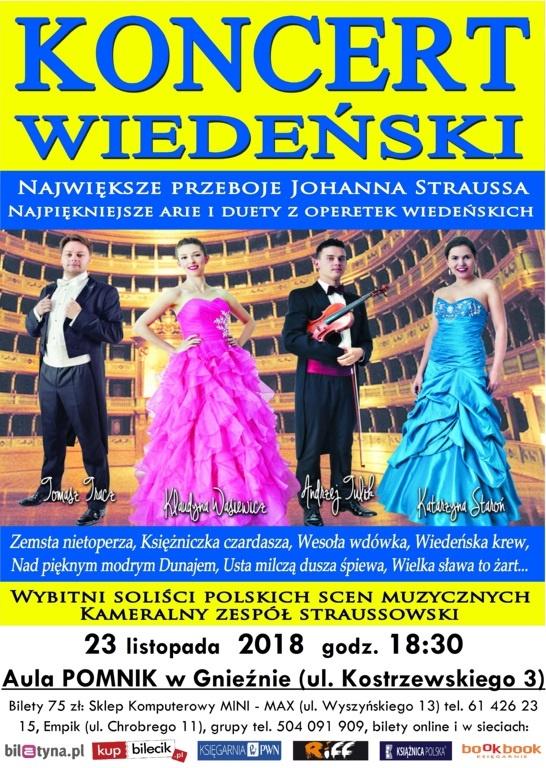 Gala Wiedeńska w Gnieźnie